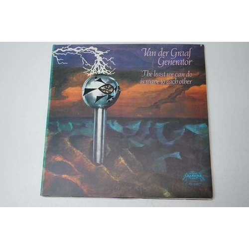 845 - Vinyl - Van Der Graaf Generator The Least We Can Do Is Wave To Each Other LP on Charisma CAS1007, St...
