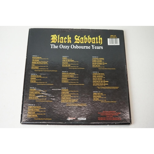 10 - Vinyl - Black Sabbath The Ozzy Osbourne Years (ESBLP 142) 5 LP box set.  Inner booklet intact and VG...