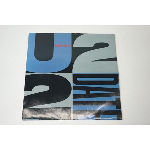 12 - Vinyl - U2 2 Date Promotional LP on Island U22DI, sleeve gd+ with seam wear, vinyl vg+