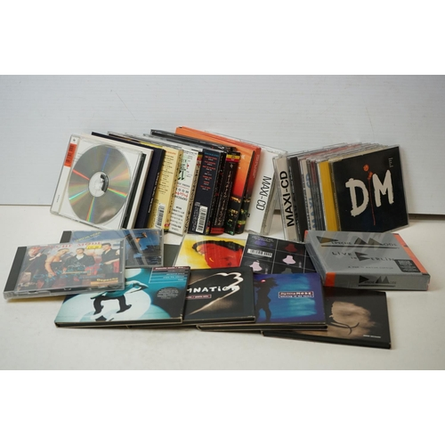 649 - CDs - 27 Depeche Mode singles, albums and Box Sets to include sealed Live In Berlin, In Your Room et...