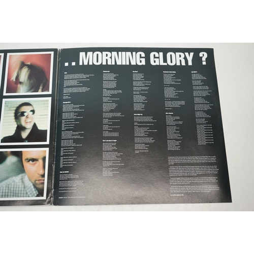 7 - Vinyl - Oasis Whats The Story Morning Glory LP on Creation CRELP189 sleeve vg, vinyl vg++