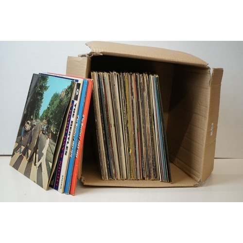 788 - Vinyl - Over 50 Rock & Pop LPs to include 5 x The Beatles, 3 x Deep Purple, Shirley Bassey, Bay Coty...