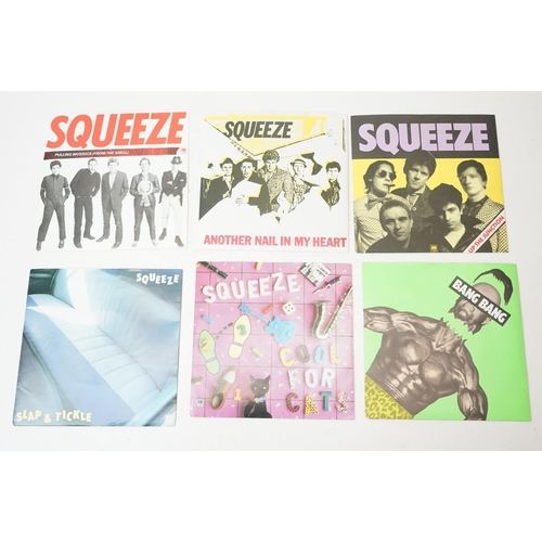 882 - Vinyl - Collection of Squeeze to include 9 x picture sleeve 7