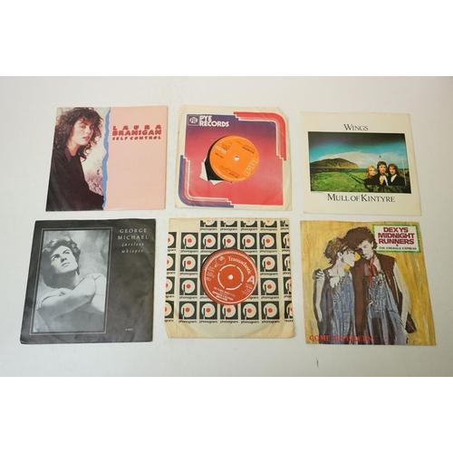886 - Vinyl - Led Zeppelin II LP on Atlantic K40037 sleeve vg/ vinyl vg+ plus a group of 20 x 7