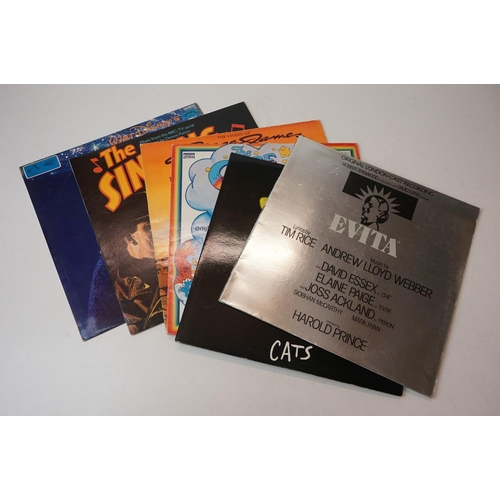 912 - Vinyl - A collection of approx 70 x Original Soundtrack vinyl LP's to include : Game Of Death, Battl...