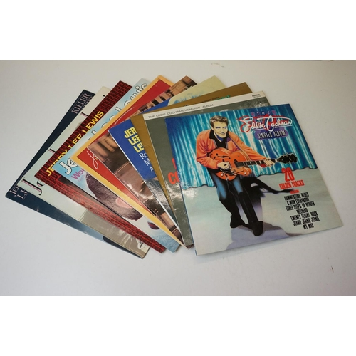 914 - Vinyl - A collection of approx 100 x Rock n' Roll / Rockabilly vinyl LP's to Include : Eddie Cochran...
