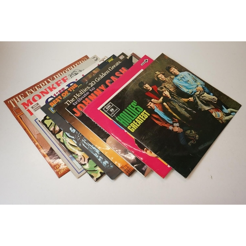 934 - Vinyl - Large collection of compilations, 50's-60s Pop, Rok, Beat etc, sleeves gd+, vinyl vg+ overal...