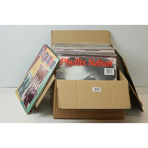 936 - Vinyl - Around 60 Motown and Soul LPs to include Shirley Bassey, This Is Soul, Diana Ross etc, sleev...