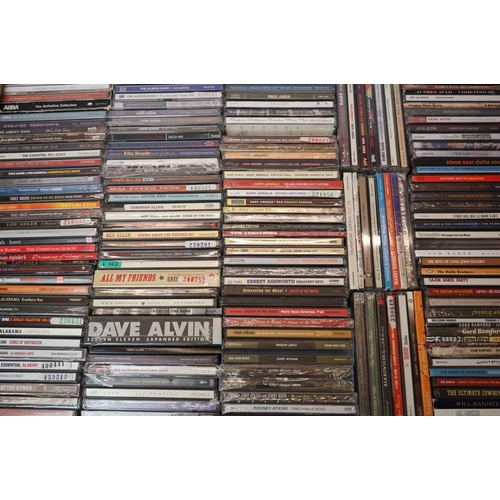 1013 - CDs - Around 400 CDs featuring Country and various artists, vg condition