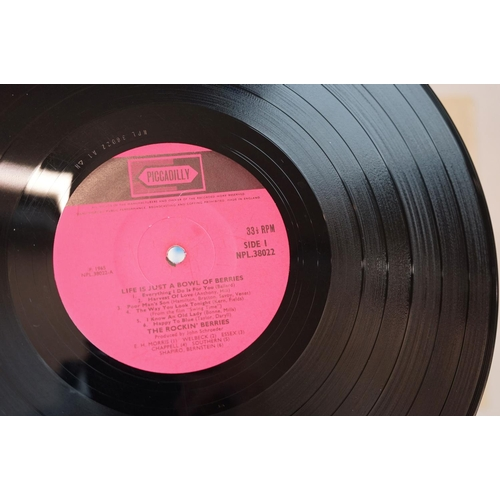 531 - Vinyl - Life Is Just A Bowl of Berries LP on Piccadilly Records NPL38022 Pye, laminated sleeve cover...