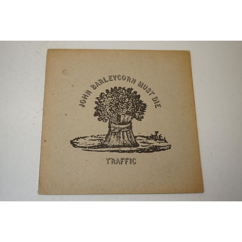 537 - Vinyl - Three TRaffic LPs to include Mr Fantasy on Island ILPS961 mono, flipback, sleeve gd, vinyl e...