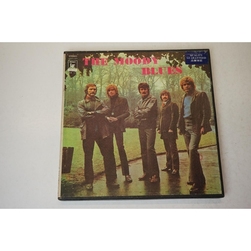 629 - Vinyl - Four Box Sets to include The Moody Blues Japanese L72471-2478 8LP set, 2 x Status Quo PRO BX...