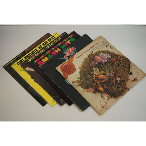 781 - Vinyl - Around 50 Rock, Pop & other genre LPs top include 13 x Beach Boys, 5 x Jimi Hendrix, 8 x Man...
