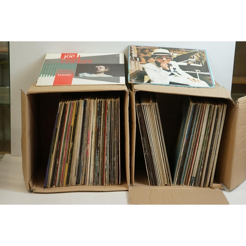 790 - Vinyl - Around 120 LPs spanning the genres and decades to include Boney M, Thin Lizzy, Elton John, Q...