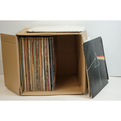 793 - Vinyl - Over 50 Rock & Pop LPs to include Pink Floyd Dark Side of the Moon, Thin Lizzy, Rod Stewart,...
