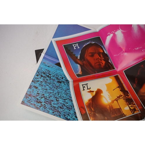 942 - Vinyl - Three later release Pink Floyd LPs to include Dark Side of the Moon (with two posters), Atom...