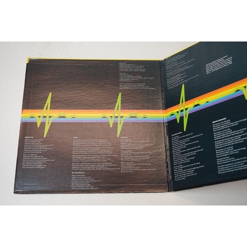 944 - Vinyl - Two Pink Floyd LPs to include Dark Side of the Moon Original Master Recording, sleeve showin...