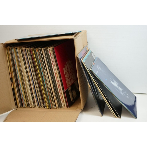 948 - Vinyl - Around 80 Rock, Pop and Easy Listening LPs to include The Moody Blues x 4, Joni Mitchell ,Ro...