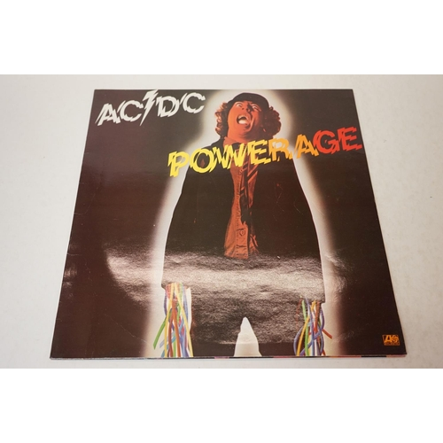 956 - Vinyl - AC/DC collection of 10 LP's and a 12