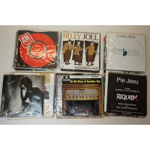 959 - Vinyl - collection of approx 50 45's spanning genres and decades to include The Cure, Frankie Goes T...