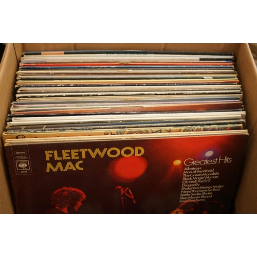 960 - Vinyl - Rock & Pop ollection of approx 50 LP's and 50 45's including Fleetwood Mac, Bon Jovi, Pink F...
