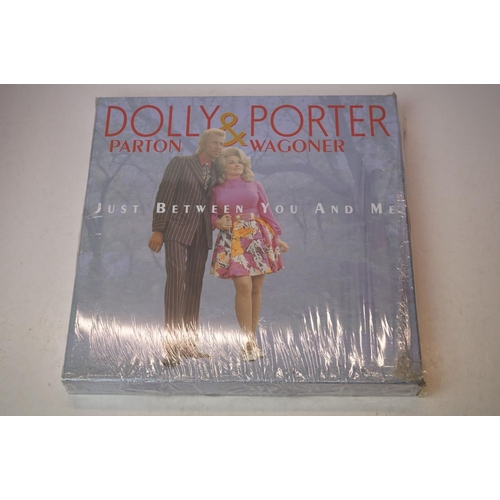 984 - Vinyl - 25 various box sets, mainly country to include Dolly Parton & Porter Wagoner, Bill Munroe, C...