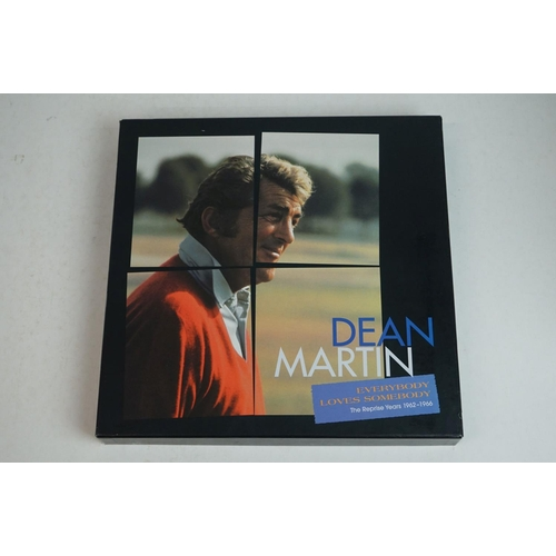 1028 - Box Sets - Five box sets to include Dean Martin Lay Some Happiness On Me, Dean Martin Everybody Love...