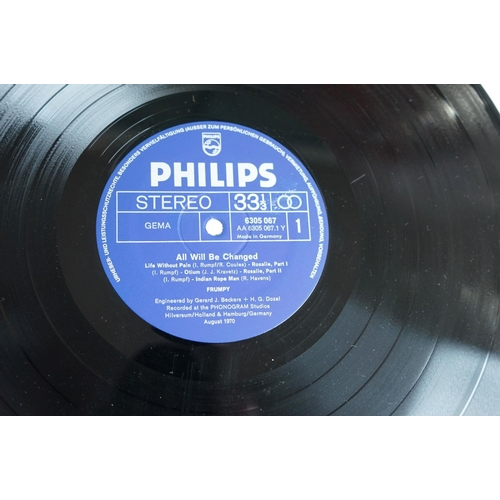 1045 - Vinyl - Frumpy All Will Be Changed (Philips 6305 067) gatefold sleeve in plastic, silver / blue labe...