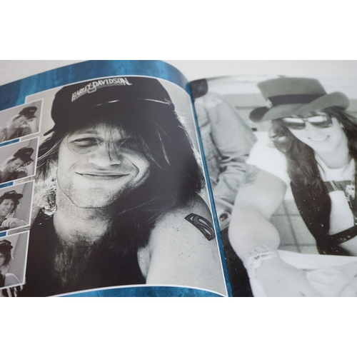 1074 - Music Memorabilia - Two Bon Jovi tour programmes with 2 x tickets (Wembley 9th Dec 1988 & Hammersmit...