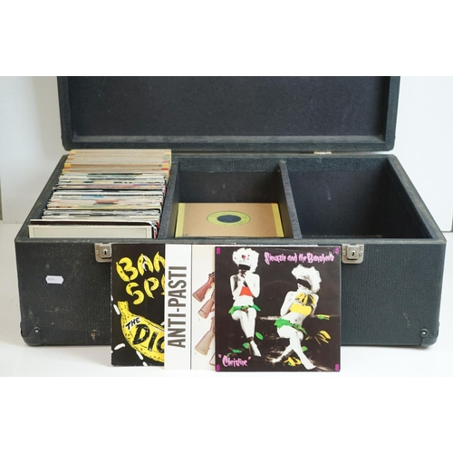 352 - Vinyl - Punk / Post Punk / New Wave Collection of over 150 45's featuring XTC, The Dickies, Anti-Pas...
