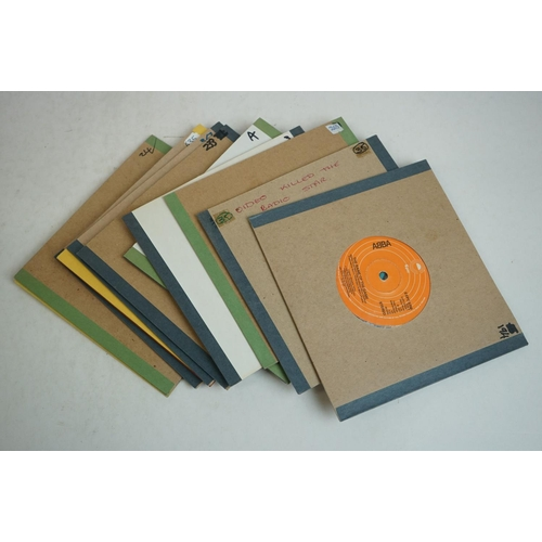 355 - Vinyl - Collection of over 150 rock & pop 45's spanning the decades including Bon Jovi, Styx, Van Ha...