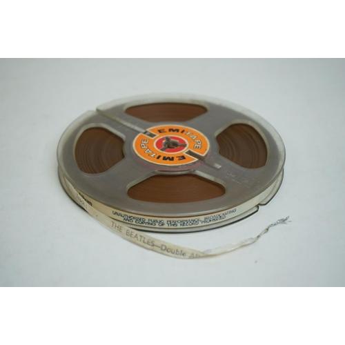 703 - The Beatles White Album (Apple Records – DTA-PMC 7067/8) 3 ¾ ips, 2-Track Mono, 5