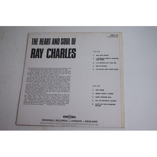 1081 - Vinyl - Six Soul / Jazz LPs to include James Blood Ulmer Odysey, Herbie Mann Waterbed, Marvin Gaye A...