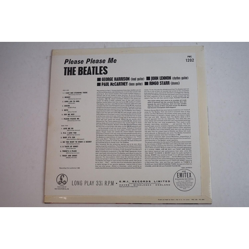 11A - Vinyl - The Beatles x 2 LP's to include Please Please Me (PMC 1202) Mono, gold lettering, Dick James...