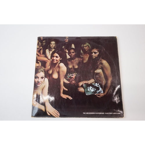 202 - Vinyl - The Jimi Hendrix Experience – Electric Ladyland Original UK week of release 1st Pressing Tra...