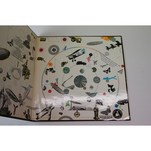 205 - Vinyl - Led Zeppelin – III UK 1st Pressing plum labels, A5 / B5 First Matrix, misprinted 'Celebratio...