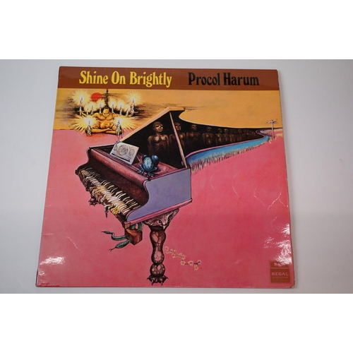 213 - Vinyl - Procol Harum – Shine On Brightly Original UK 1st pressing Stereo copy of their Second Psych ...