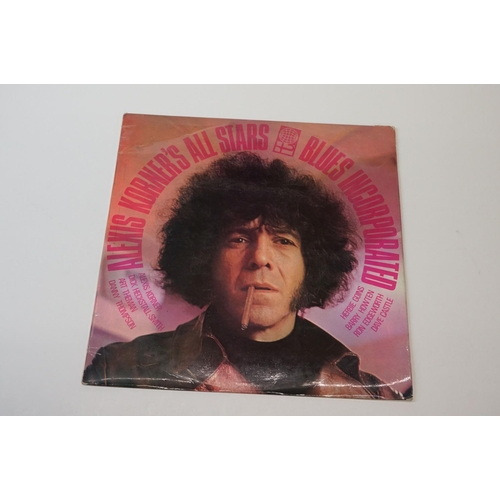 224 - Vinyl - Alexis Korner - 2 UK 1st pressing albums by the Blues maestro to include Alexis Korner All S...