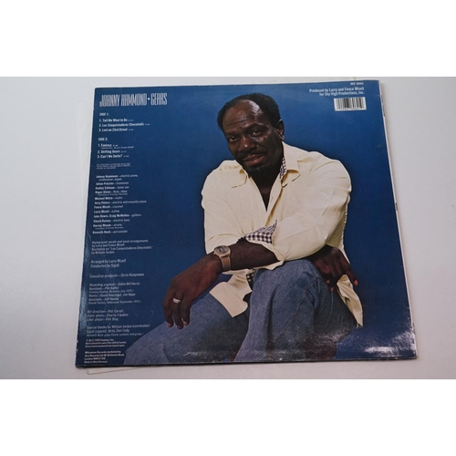 239 - Vinyl - Johnny Hammond - Gears (1987 German, Milestone Records MX 9062), A German 1987 issue of this...