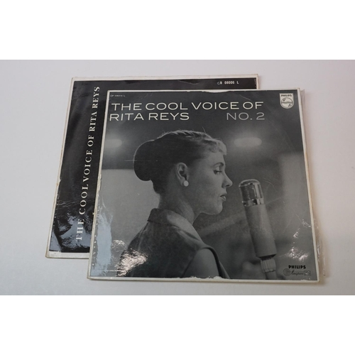 247 - Vinyl - Rita Reys x 2 rare cool jazz albums to include 'The Cool voice of Rita Reys No.2' (1957 Sout...