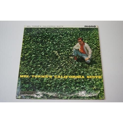 251 - Vinyl - Mod Jazz - Mel Torme - 6 rare original first pressing albums to include 'California Suite' (...