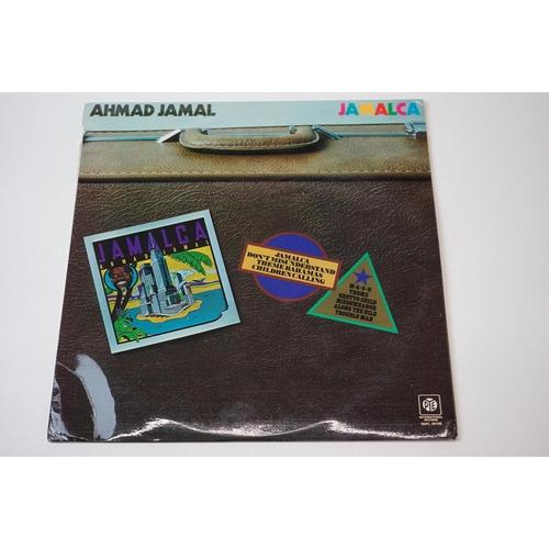 252 - Vinyl - Ahamad Jamal 4 rare funk jazz original albums to include 'Jamalca' (1974 UK 1st press, Pye R...