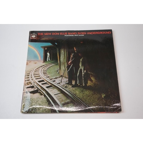 253 - Vinyl - Don Ellis 4 UK 1st pressing albums to include 'The New Don Ellis Band Goes Underground' (196...