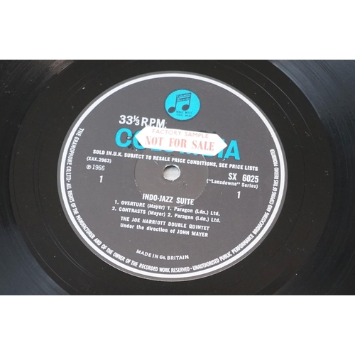 255 - Vinyl - Joe Harriott & John Mayer Indo Jazz Suite (1966 UK 1st pressing, Probe Records, SPB 1019), a...