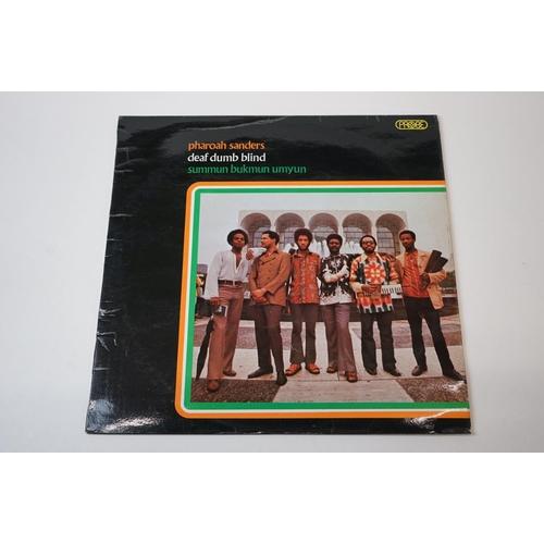 256 - Vinyl - Pharoah Sanders Deaf Dumb Blind (1971 UK 1st pressing promo sample copy, Columbia Records, S...