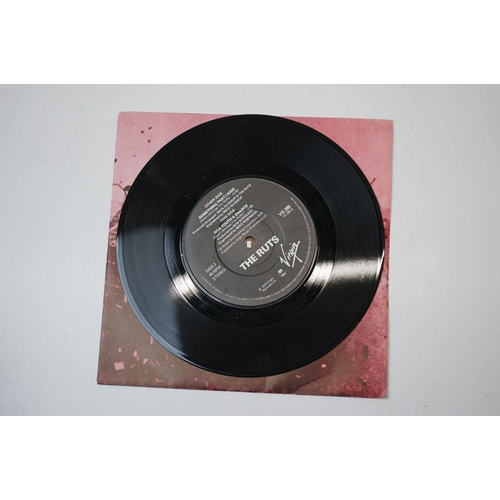 318 - Vinyl - Punk - 3 x UK first pressing singles by The Ruts including the original rare pressing of In ...