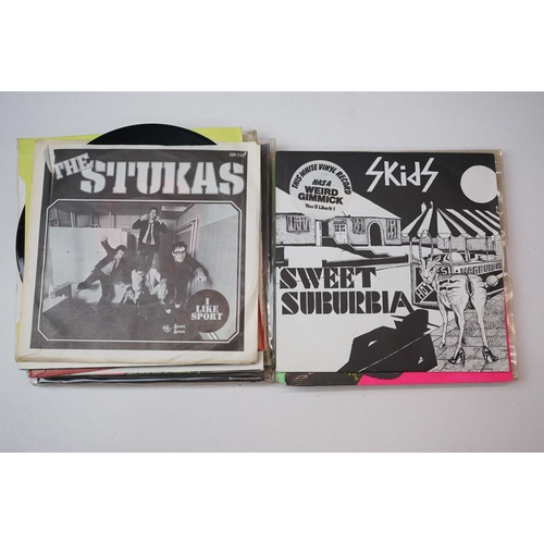 325 - Vinyl - 13 x 1977 first generation punk singles including Wire, The Only Ones, John Cooper Clarke, M...