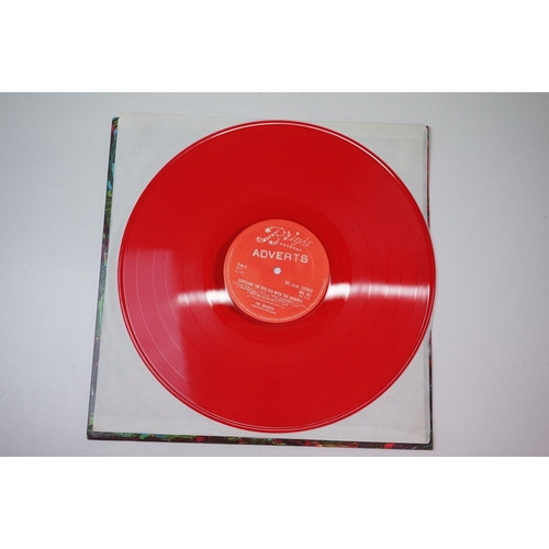 330 - Vinyl - Punk - The Adverts Crossing The Red Sea With original UK pressing on red vinyl.  Sleeve & Vi...