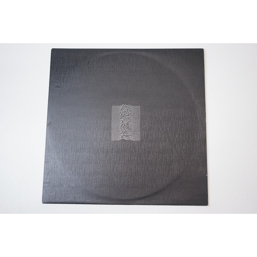 332 - Vinyl - Joy Division Unknown Pleasures with original textured sleeve and inner sleeve, plus Transmis...