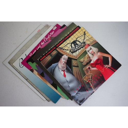 1113 - Vinyl - Around 50 Rock & Metal LPs & 12